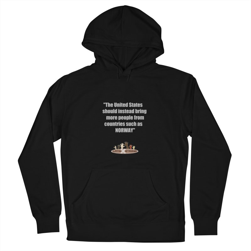 NORWAY by LatinX Strong Men's Pullover Hoody by LatinX Strong