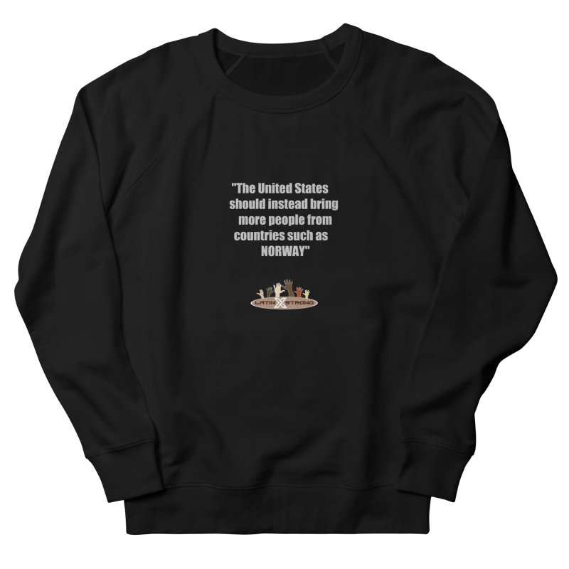 NORWAY by LatinX Strong Men's Sweatshirt by LatinX Strong