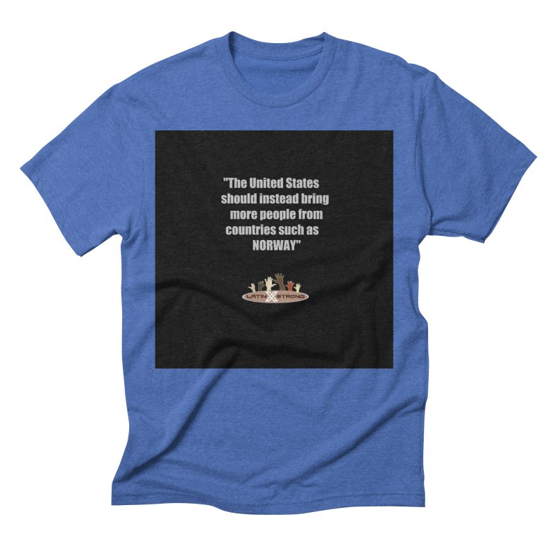 NORWAY by LatinX Strong Men's T-Shirt by LatinX Strong