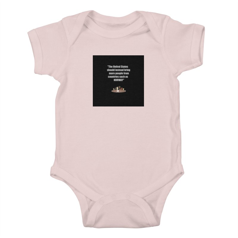 NORWAY by LatinX Strong Kids Baby Bodysuit by LatinX Strong