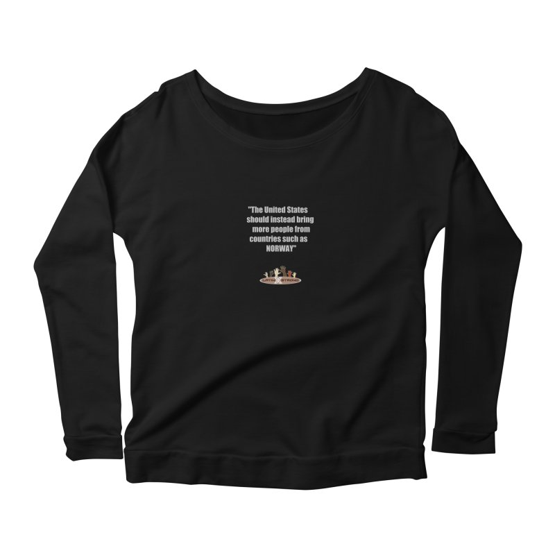 NORWAY by LatinX Strong Women's Scoop Neck Longsleeve T-Shirt by LatinX Strong