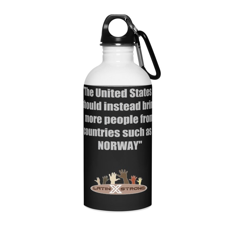 NORWAY by LatinX Strong Accessories Water Bottle by LatinX Strong