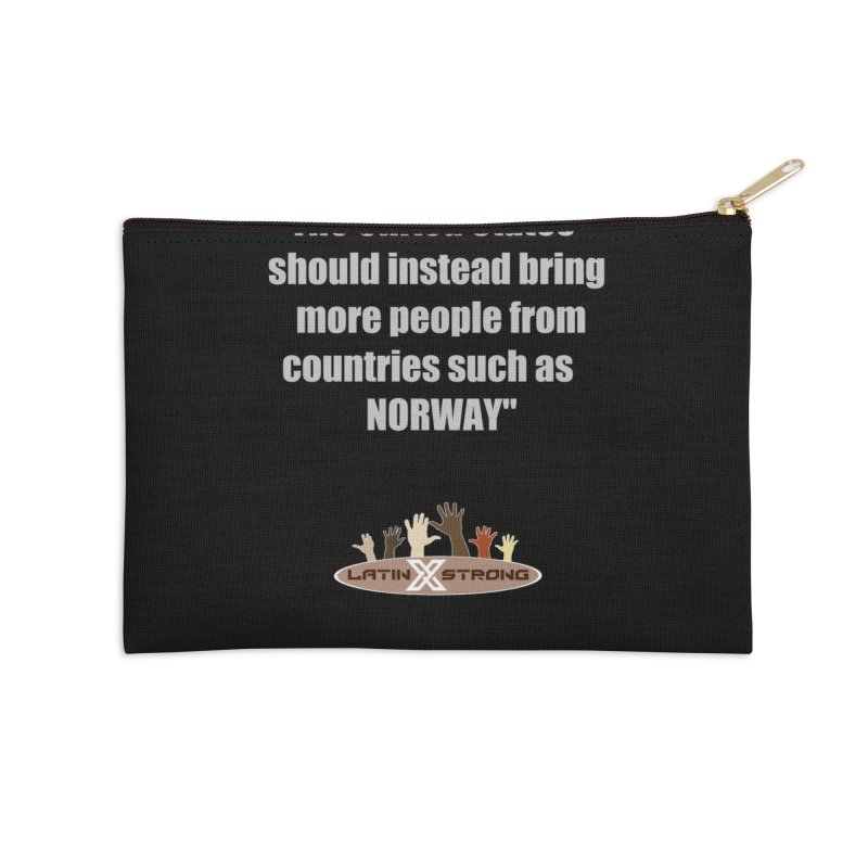 NORWAY by LatinX Strong Accessories Zip Pouch by LatinX Strong
