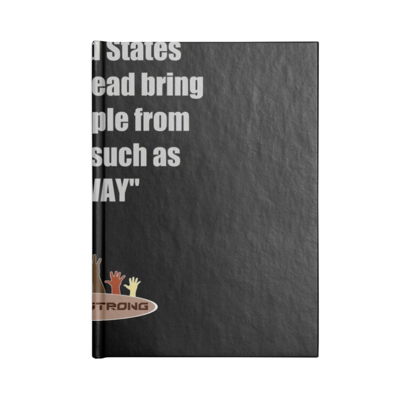 NORWAY by LatinX Strong Accessories Lined Journal Notebook by LatinX Strong