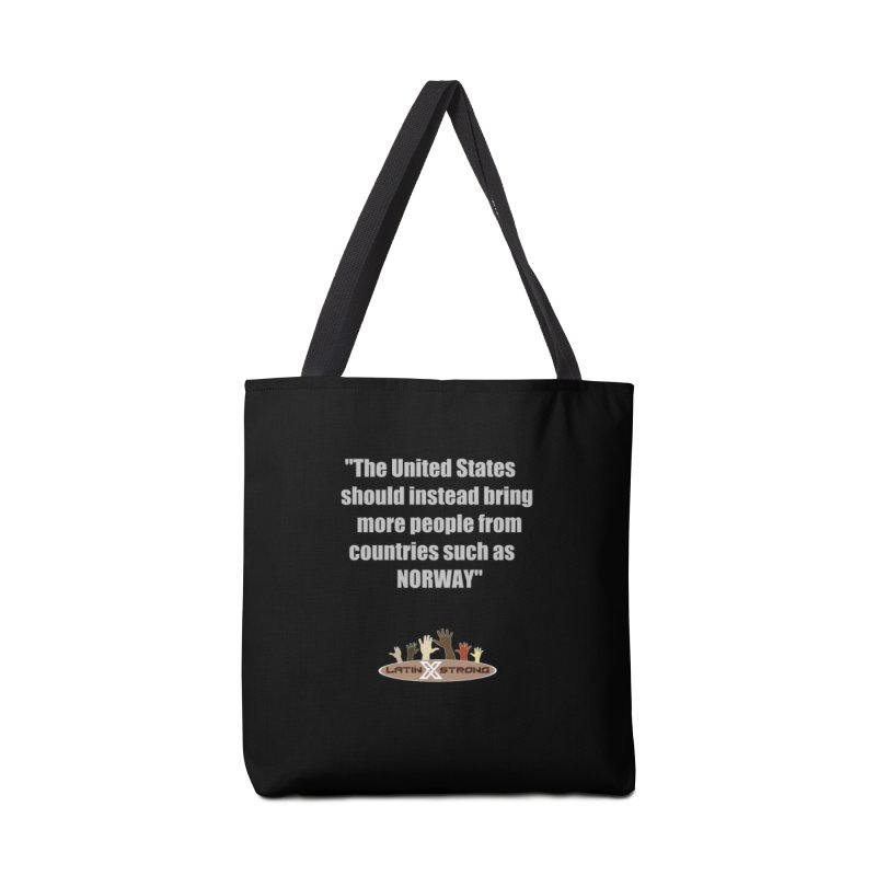 NORWAY by LatinX Strong Accessories Tote Bag Bag by LatinX Strong