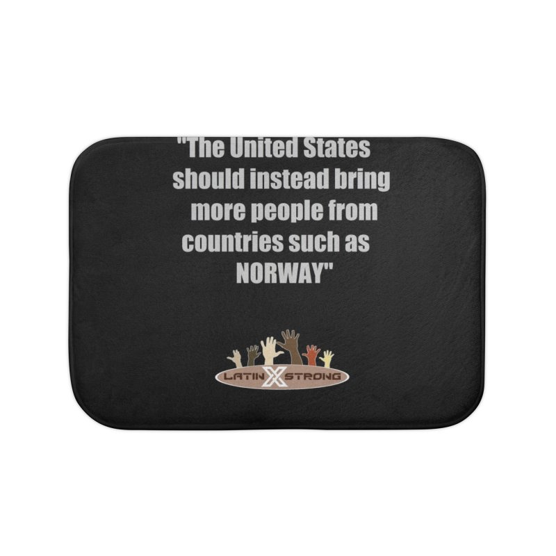 NORWAY by LatinX Strong Home Bath Mat by LatinX Strong