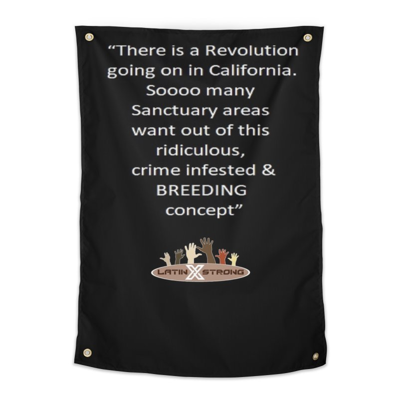 BREEDING Home Tapestry by LatinX Strong