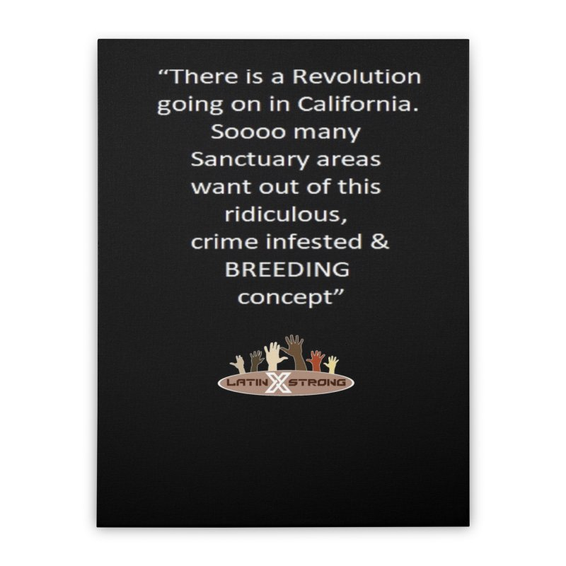 BREEDING Home Stretched Canvas by LatinX Strong