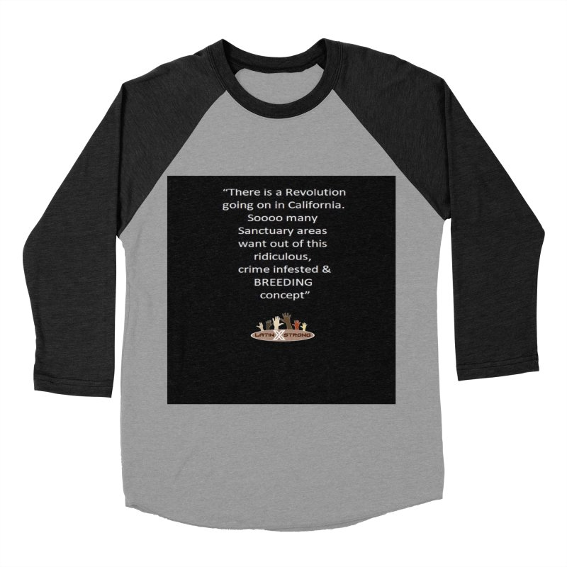 BREEDING Men's Longsleeve T-Shirt by LatinX Strong