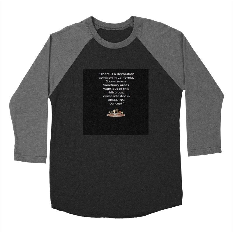 BREEDING Women's Baseball Triblend Longsleeve T-Shirt by LatinX Strong