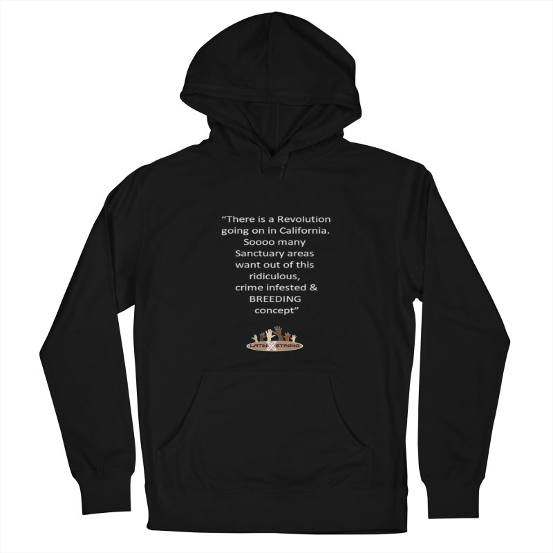 BREEDING Women's Pullover Hoody by LatinX Strong