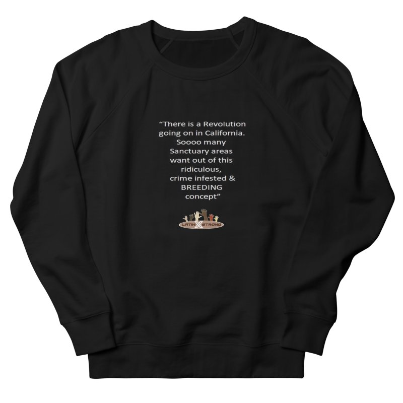 BREEDING Women's French Terry Sweatshirt by LatinX Strong