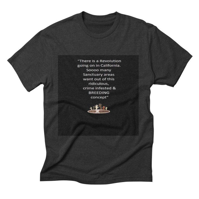 BREEDING Men's Triblend T-Shirt by LatinX Strong