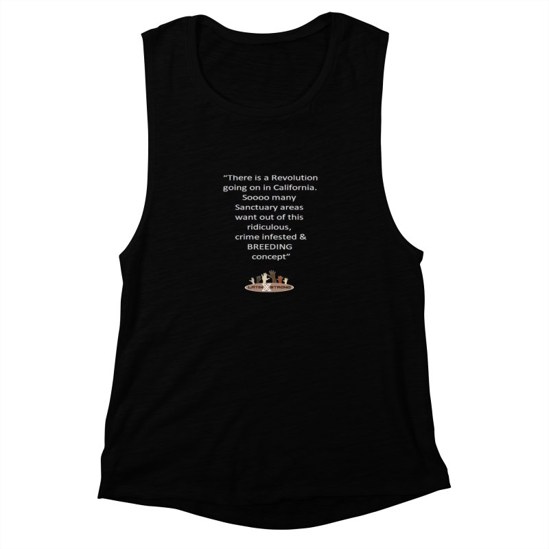 BREEDING Women's Muscle Tank by LatinX Strong