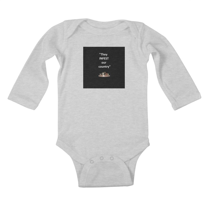 Infest Kids Baby Longsleeve Bodysuit by LatinX Strong