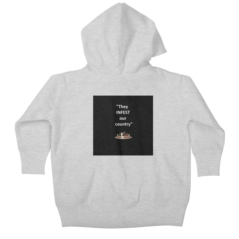 Infest Kids Baby Zip-Up Hoody by LatinX Strong