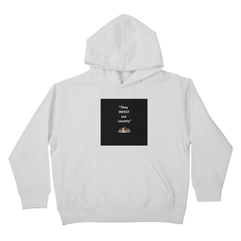 Infest Kids Pullover Hoody by LatinX Strong