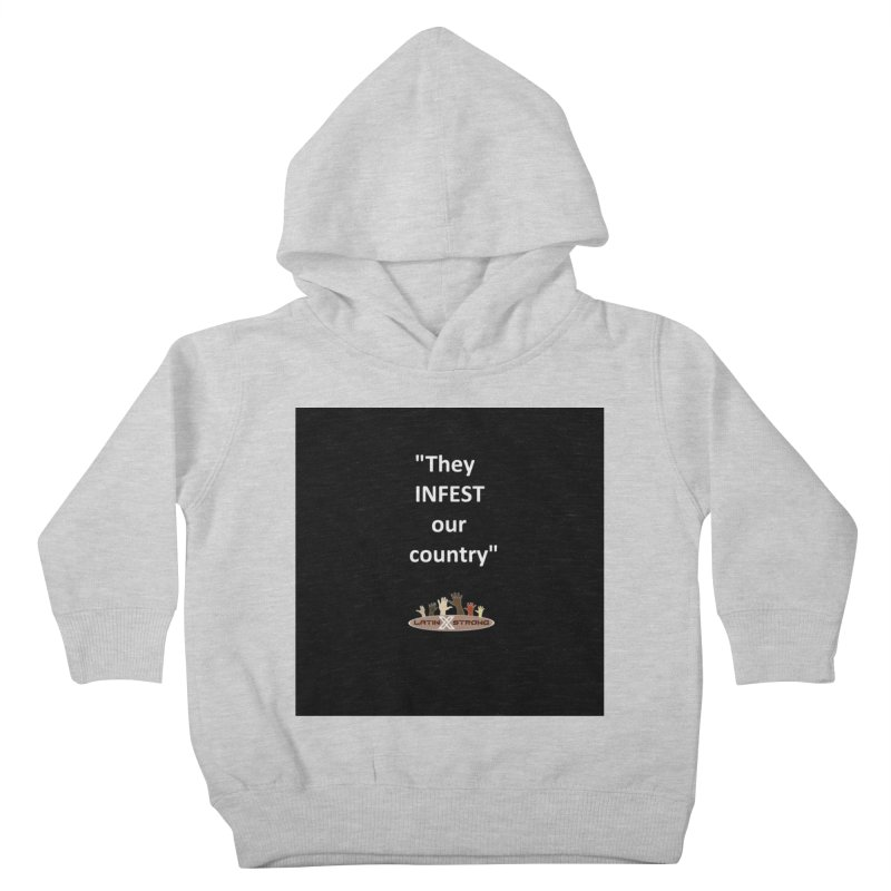 Infest Kids Toddler Pullover Hoody by LatinX Strong
