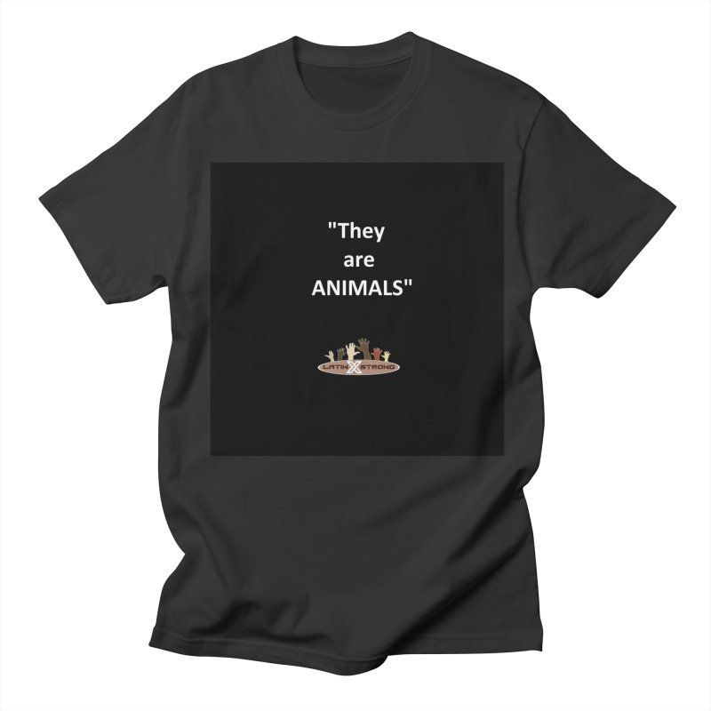 Animals Women's Regular Unisex T-Shirt by LatinX Strong