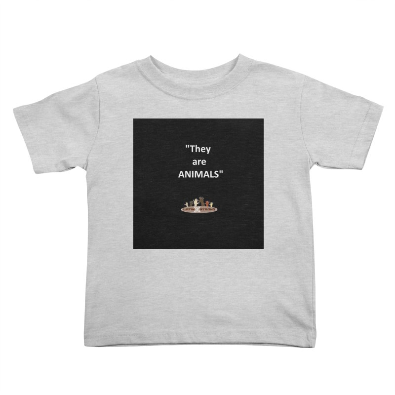 Animals Kids Toddler T-Shirt by LatinX Strong