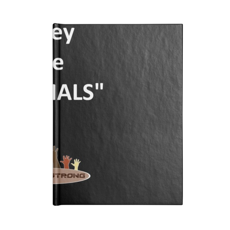 Animals Accessories Blank Journal Notebook by LatinX Strong