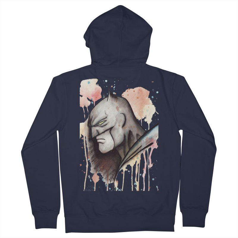 The Caped Crusader Women's Zip-Up Hoody by Art by Latinsilver