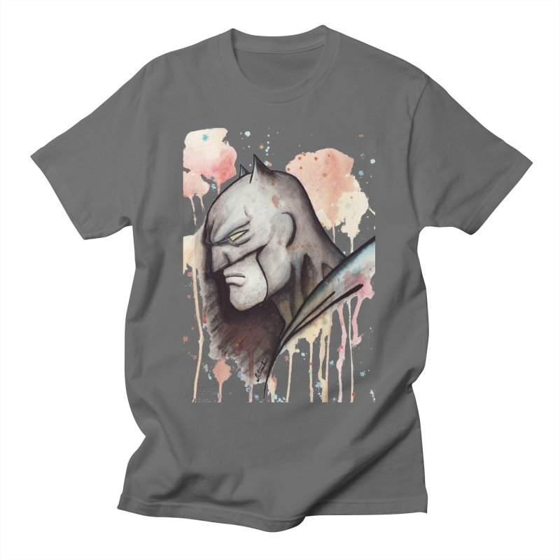 The Caped Crusader Men's T-Shirt by Art by Latinsilver