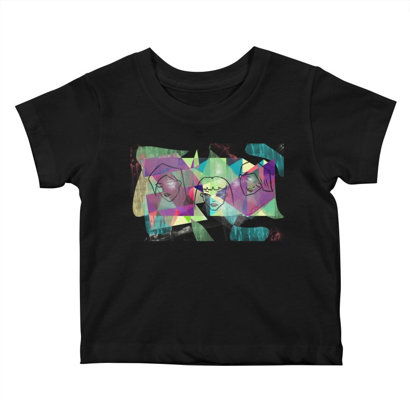 Demystify My Emotions Kids Baby T-Shirt by Art by Latinsilver