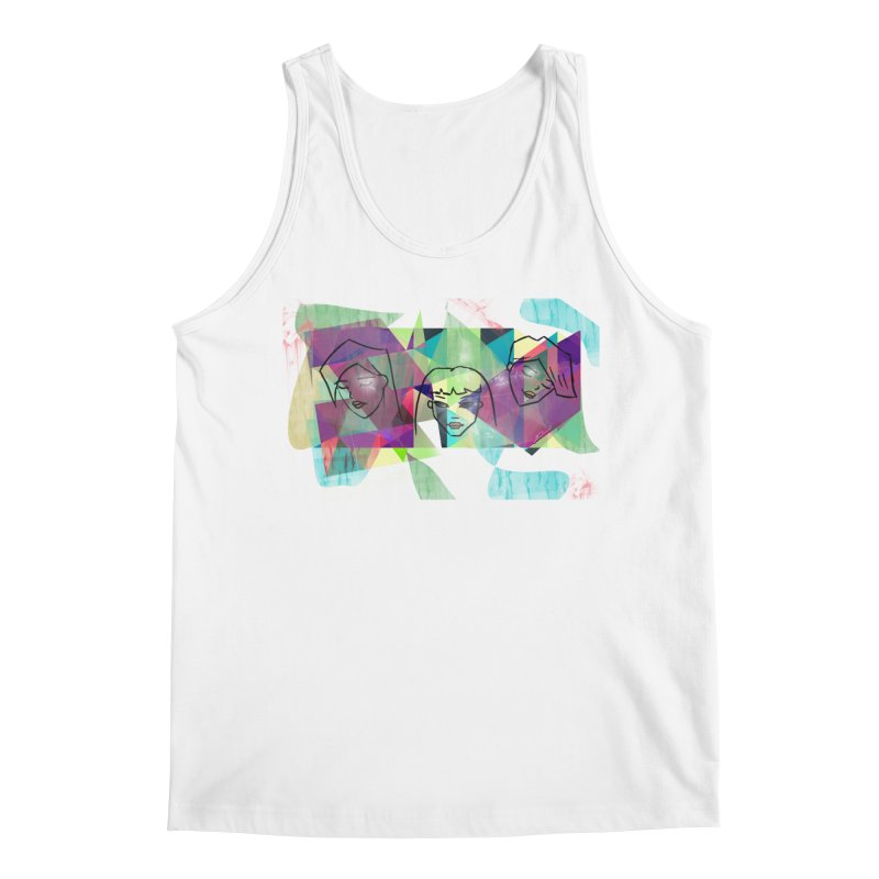 Demystify My Emotions Men's Tank by Art by Latinsilver