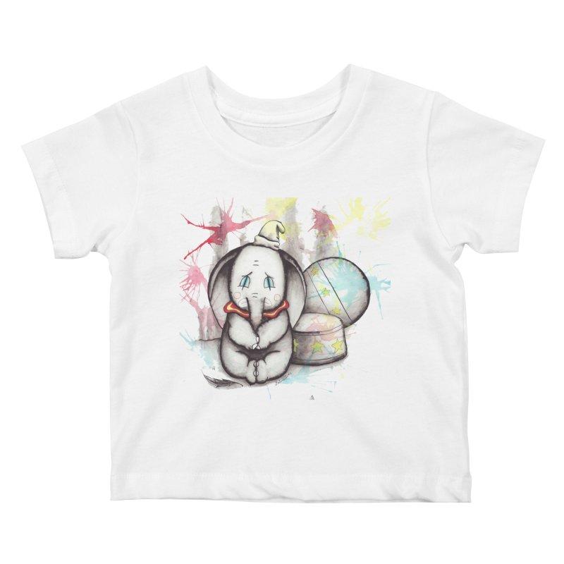 Bungle of Joy Kids Baby T-Shirt by Art by Latinsilver