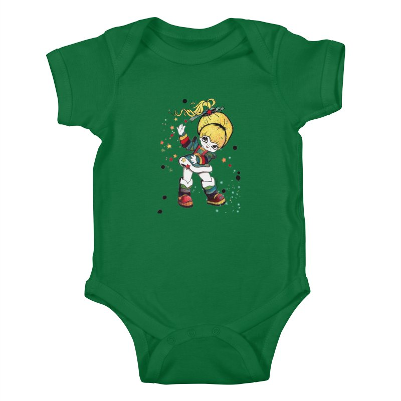Not So Bright Kids Baby Bodysuit by Art by Latinsilver