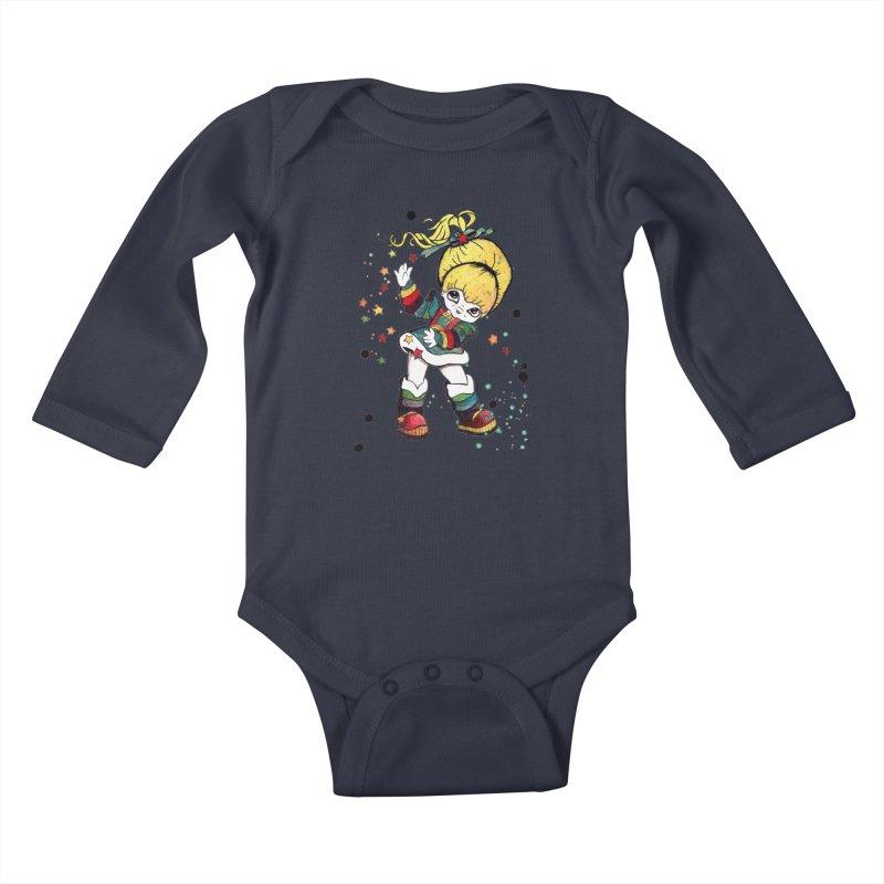Not So Bright Kids Baby Longsleeve Bodysuit by Art by Latinsilver