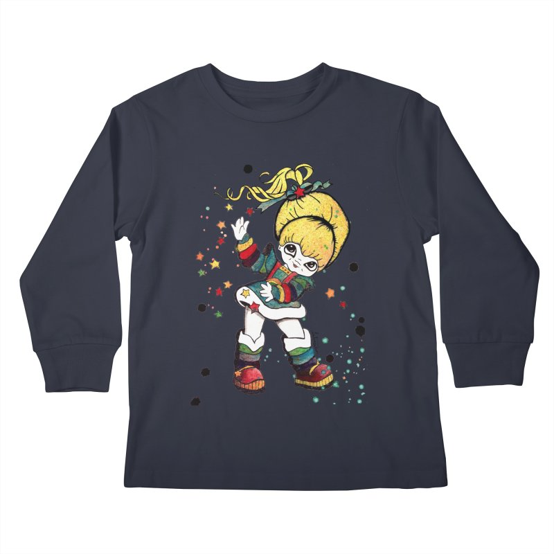 Not So Bright Kids Longsleeve T-Shirt by Art by Latinsilver