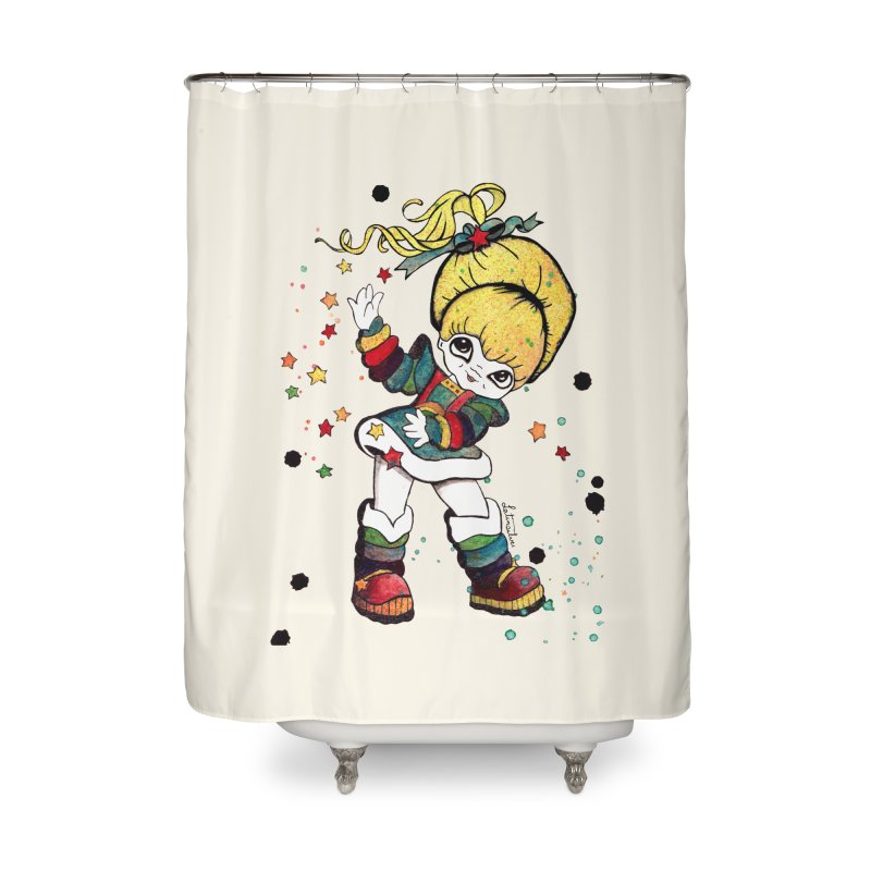 Not So Bright Home Shower Curtain by Art by Latinsilver