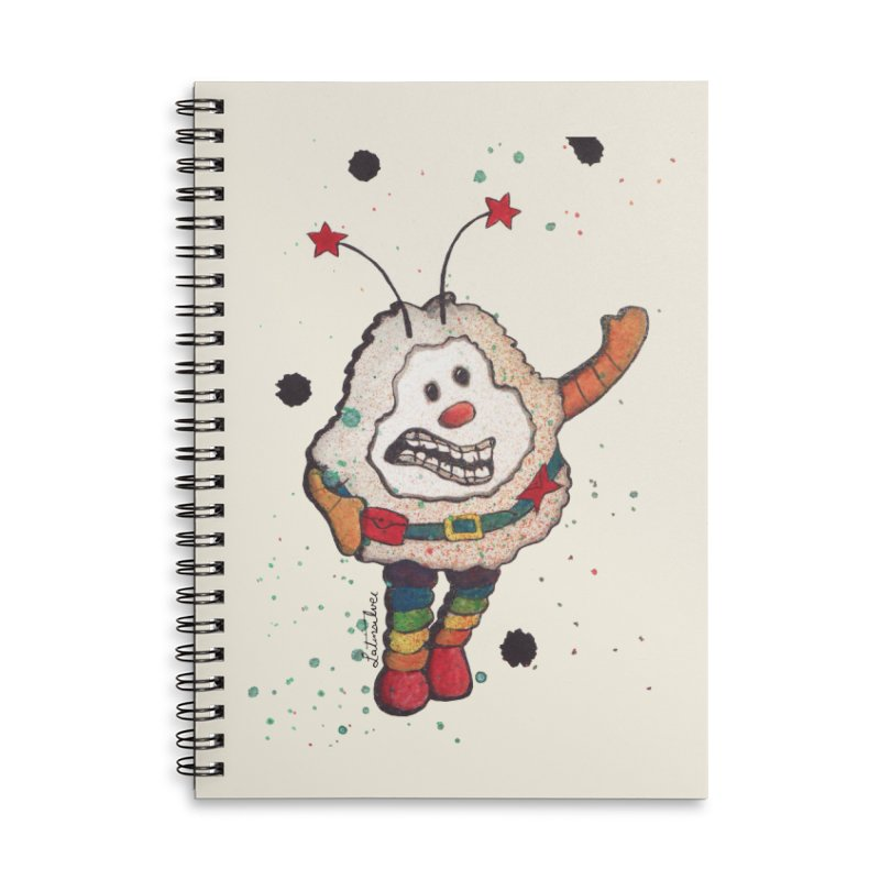 Sprite (left) Accessories Notebook by Art by Latinsilver