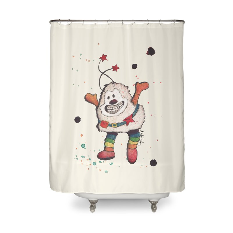 Sprite (Right) Home Shower Curtain by Art by Latinsilver