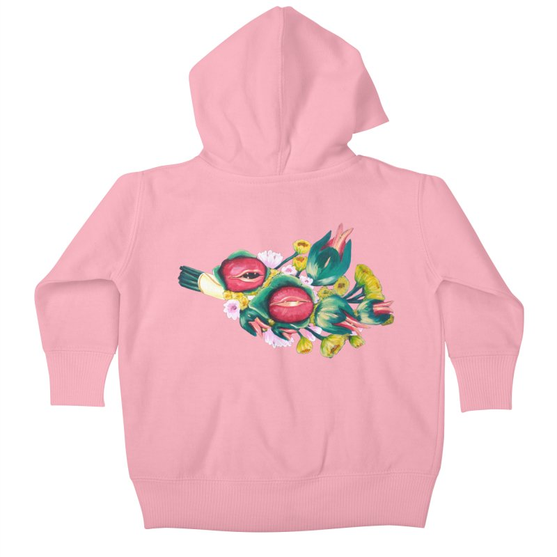 Bunch of Besos Kids Baby Zip-Up Hoody by Art by Latinsilver