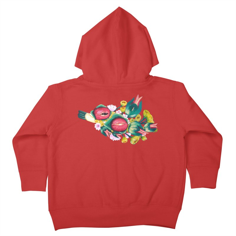 Bunch of Besos Kids Toddler Zip-Up Hoody by Art by Latinsilver