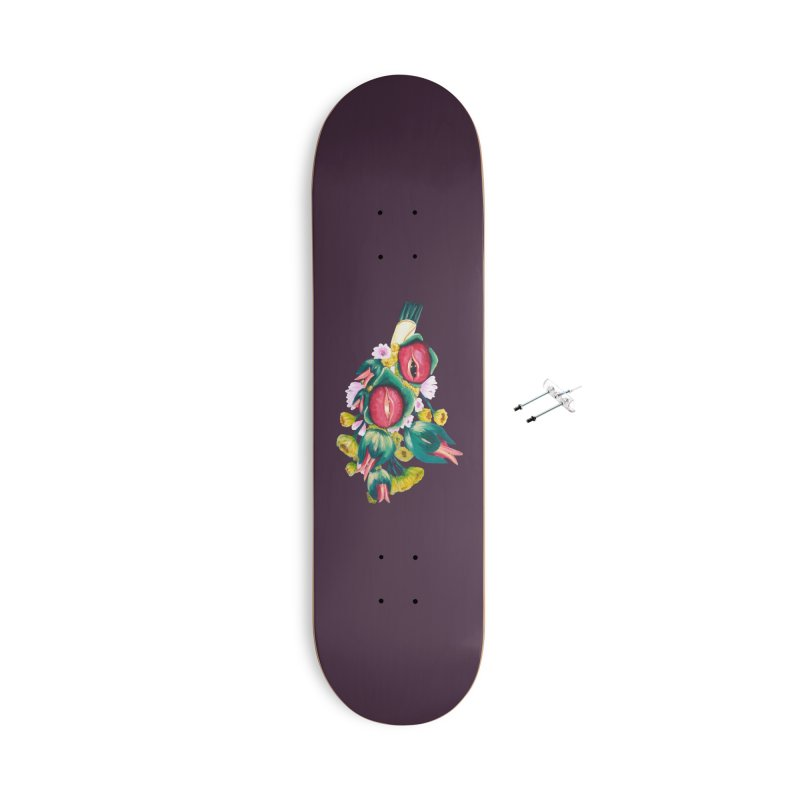 Bunch of Besos Accessories Skateboard by Art by Latinsilver