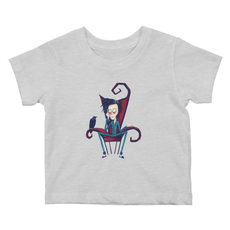 Forlorn Kids Baby T-Shirt by Art by Latinsilver