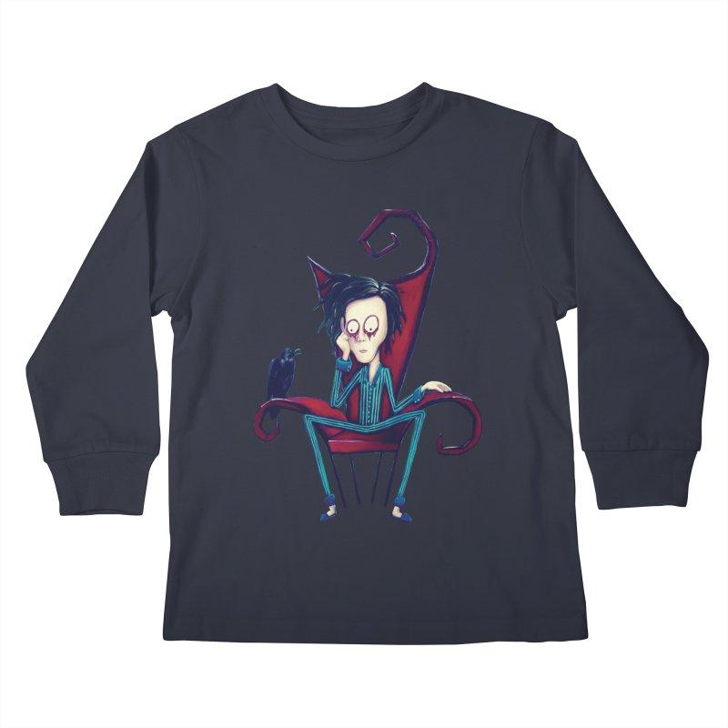 Forlorn Kids Longsleeve T-Shirt by Art by Latinsilver