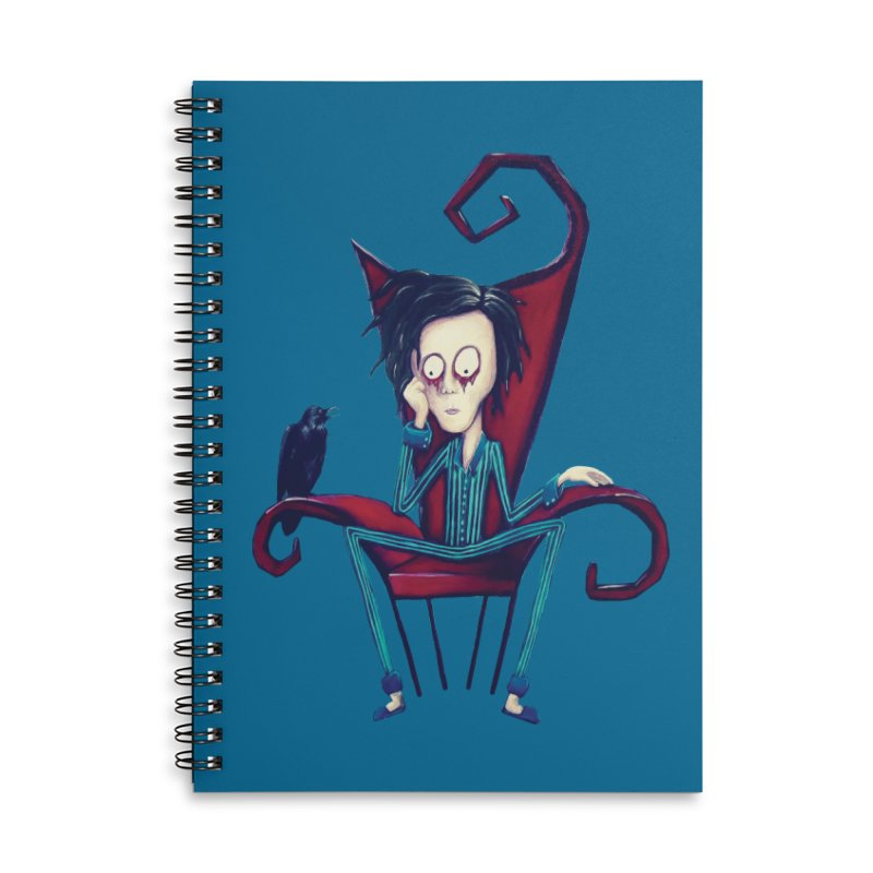 Forlorn Accessories Notebook by Art by Latinsilver