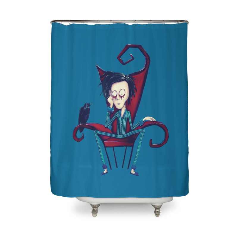 Forlorn Home Shower Curtain by Art by Latinsilver