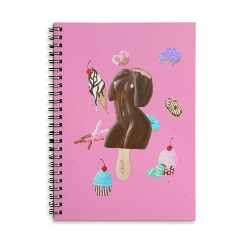 Sweet Lady Accessories Notebook by Art by Latinsilver