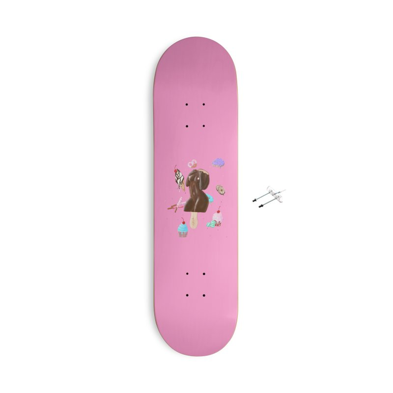 Sweet Lady Accessories Skateboard by Art by Latinsilver