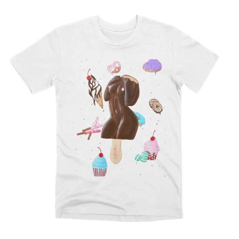 Sweet Lady Men's T-Shirt by Art by Latinsilver