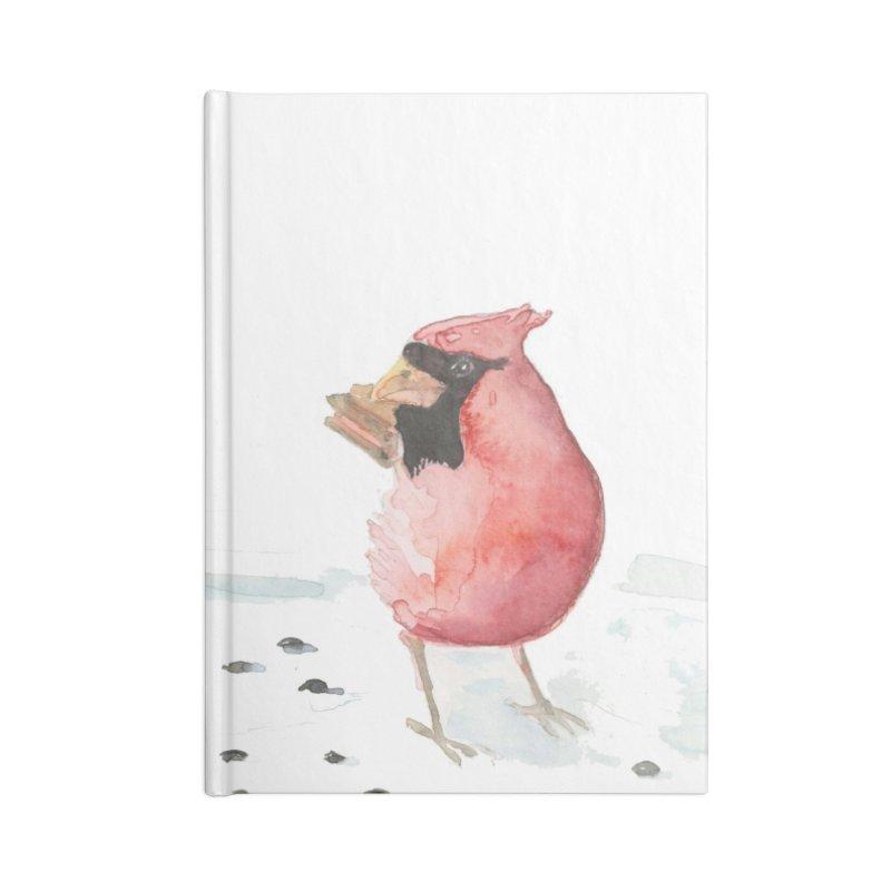Cardinal Accessories Blank Journal Notebook by LauraStockwell's Artist Shop