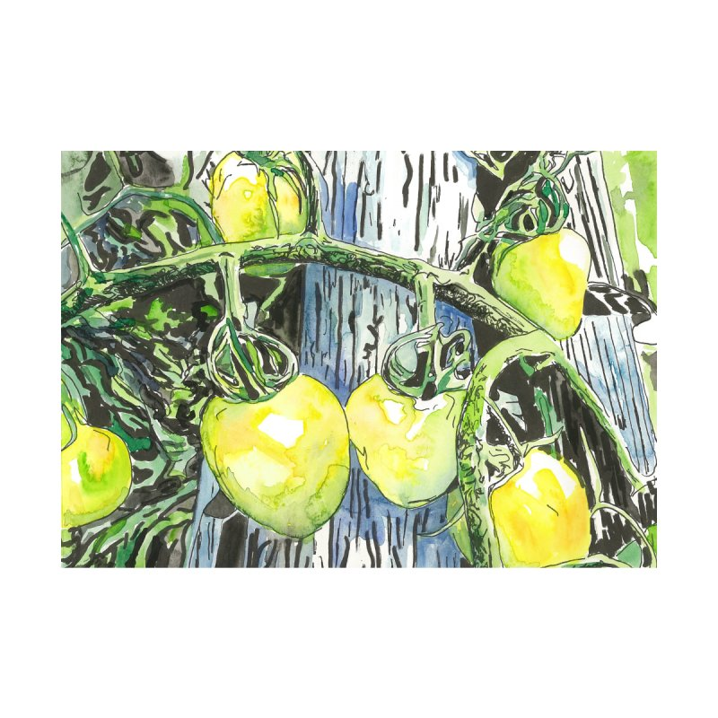 Tomatoes on the Vine Home Fine Art Print by LauraStockwell's Artist Shop