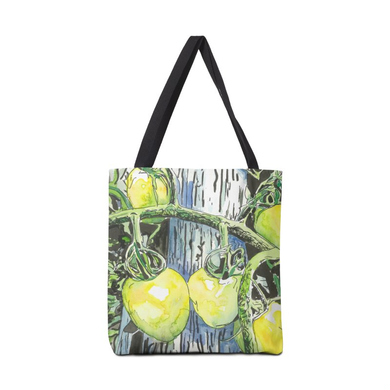 Tomatoes on the Vine Accessories Tote Bag Bag by LauraStockwell's Artist Shop