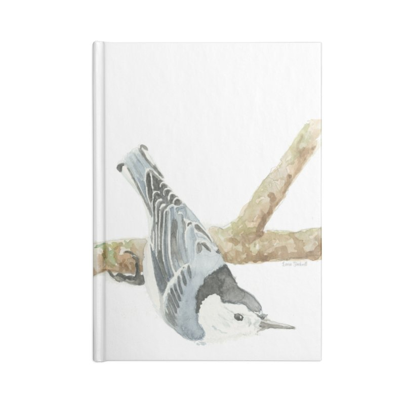 Nuthatch Accessories Blank Journal Notebook by LauraStockwell's Artist Shop